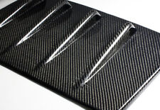 For 15-16 Subaru WRX STI Real Carbon Fiber Shark Fin Rear Roof Vortex Spoiler
