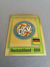 PANINI EURO 80 DEUTSCHLAND DDR 194 EAST GERMANY EUROPA 1980 STICKER 74 78 82 84