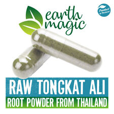 100% RAW TONGKAT ALI CAPSULES root powder testosterone booster / Androgoniser