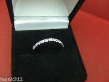 Diamond Wedding Ring Band Classic 14k White Gold Engagement Anniversary Guard