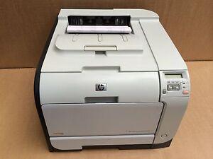 HP Colour LaserJet CP2025 CP2025DN A4 Duplex USB Network Ready Printer No Toners