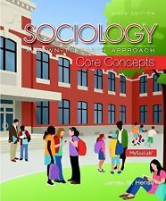 Sociology: A Down-To-Earth Approach Core Concepts (6th Edition) USED
