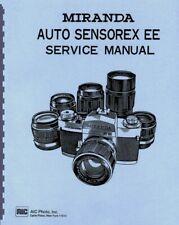 Miranda Auto Sensorex EE Service & Repair Manual Reprint