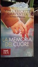 LIBRO LA MEMORIA DEL CUORE KIM E KRICKITT CARPENTER BUR 2012
