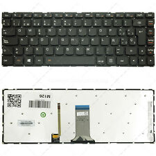 Spanish Keyboard for Lenovo S41-35 S41-70 S41-75 U41-70  P/N: SN20G630XX Backlit
