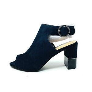 New Alfani Womans Florrissl Block Heel Detail Open Toe Sz 5.5M Step Flex NIB