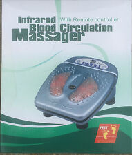 Foot Massager Infrared Blood Circulation Foot Massager with Remote RRP £79.99''