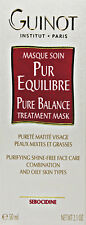 Guinot Pure Balance Treatment Mask Masque Combination And Oily Skin 50ml(2.1oz)