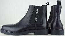 CALVIN KLEIN YASH Herren Chealse Boots Stiefelette Schuhe Bootie Black Gr.43 NEU