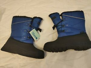 mountain warehouse uk size 5 whistler snow boot cobalt