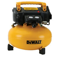 DEWALT 0.9 HP 6 Gallon Oil-Free Pancake Air Compressor DWFP55126R Recon
