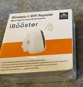 Wireless-N Wifi Repeater - iBooster (Neu)