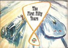 Castrol Achievements 1st 50 yrs 1909-59 Record Breaking Air Water Motorcycle Car