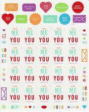 FROM ME TO YOU STAMP SHEET -- USA #4978 FOREVER 2015 W/ STICKERS