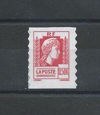 N°43 - Timbre Autoadhésif 0,50 rouge - Marianne d'Alger - 2004