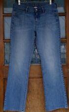 Old Navy womens jeans The Flirt size 12 stonewash mid-rise cotton stretch retro