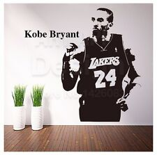 Vinyl Wall Stickers Kobe Bryant Removable Wallpaper Sport Basketball Players New