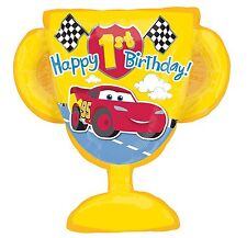 Disney Cars Mc Queen Happy 1st Birthday Party SuperShape Balloon Decoration
