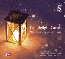 Britten / Holst / La - Candlelight Carols-Music for Chorus & Harp [New CD]