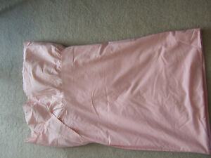 Pink Valance Sheet - Double Bed