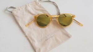 Oliver Peoples Original O'Malley SLG w/ Sun Gold Mirror Lens Brown lens  Japan