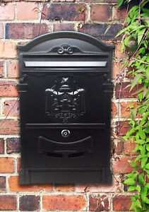 Vintage Decor Wall Mounted Imperial Style Post Box