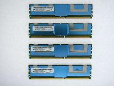 Micron 16GB 4x4GB PC2 5300F *ECC* FB-DIMM Apple Mac Pro 2006 1,1 2007 2,1 Memory