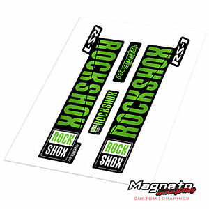 Rock Shox RS-1 2018 Style - Reproduction Fork Decals