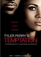 Tyler Perry's Temptation,Very Good DVD, Jim Adams, Ella Joyce, Renée Taylor, Rob