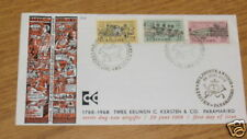 First Day Issue C. Kersten & Co Paramaribo Suriname 1968 FDC