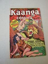 """""""KAANGA COMICS"""" #2 WINTER/1949 VFN! SCARCE FICTION HOUSE TITLE! LOTSA GGA!"""