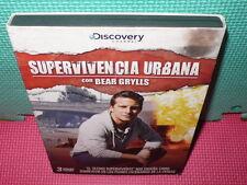 SUPERVIVENCIA URBANA - BEAR GRYLLS - 3 DVDS -