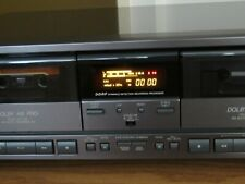 JVC TD-W707 Stereo Double Cassette Tape Deck Player / Recorder NEW In Box