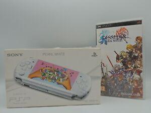 Console Sony PSP - PSP Slim & Lite White Pearl + Jeux Final Fantasy Dissidia CIB