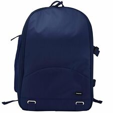 Filemate 3FMCG220NV2-R ECO Deluxe SLR Camera Backpack (Navy Blue)