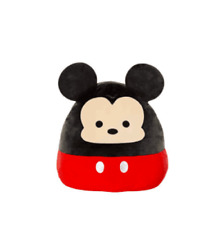 """Squishmallow Kellytoy Disney 12"""" Mickey Mouse Super Soft Plush Toy Pillow NWT!"""