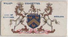 Worshipful Company of Saddlers London England Horse Saddles 100+ Y/O Trade  Card