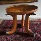 Mid 20thc Ethiopian Solid Wood Hand Carved Oromo Jima Traditional Stool