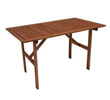 Gartentisch Holztisch Gartenmöbel Tisch MONZA 70x120cm, Eukalyptus Holz braun