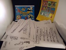 Large Lot of The Flintstones Comedy Show 1980 Animator's Model Sheets Over 50
