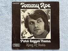 "Vinyl-7""-Cover # only Cover # Tommy Roe # Pistol Legged Mama -King of Fools # vg"