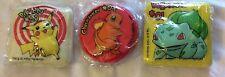 pokemon go vintage 1999 cake topper pikachu charmander bulbasaur 36 count