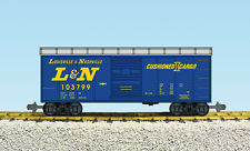 USA Trains G Scale 19097 L & N Box Car Assorted Rd #'s NEW RELEASE