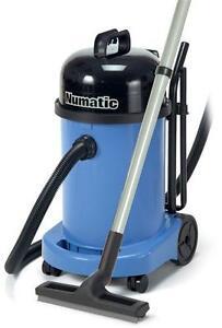 Numatic WV470-2 Blue Wet & Dry Industrial Vacuum Cleaner AA12 Kit 2021 UK Model