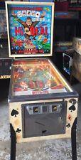 Hi-Deal Pinball Machine By Bally Coin Op 1975 Rare