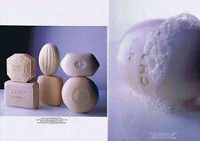 Publicité Advertising 016 1989 Chanel le savon  (2 pages)