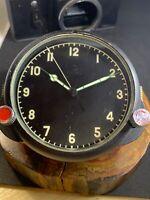 Mig-29 Soviet military AviationWatch with stopwatch clocks Panel 122 CHS 122 ЧС