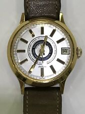 International Brotherhood Electrical Workers 7 Jewels Swiss Date Watch