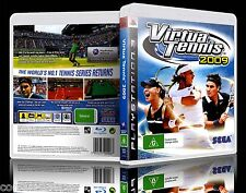 (PS3) Virtua Tennis 2009 / 09 (G) (Sports) Guaranteed, 100% Tested, Australian