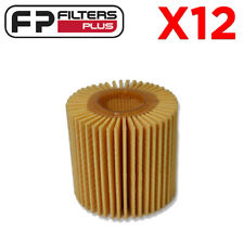 12 x WCO67 Wesfil Oil Filter - Toyota Camry, Kluger, Rav4 - R2648P, 04152YZZA1